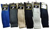 12 Pairs of excell Men's Super Slouch Socks, Cotton Blend