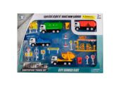 Friction Powered City Work Truck Play Set