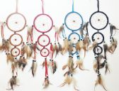3 Hoop Dream Catcher Collection in Assorted Colors