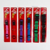 Dog Collar Assorted Solid Colors