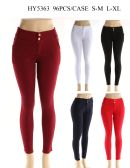 Womens Fashion Solid Color Pants In Assorted Color