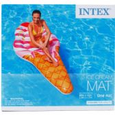 """88""""x42"""" Ice Cream Mat In Color Box, Dsgn For Adults"""
