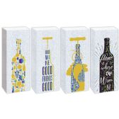 Wine Bag Glitter And Hot Stamping