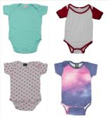 Infant Assorted Design & Color Onesie, Size S