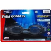 "6.75"" Swimming Goggles On Blister Card, 2 Assrt Clr"