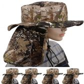 Quick Dry Camping Neck Flap Camo Boonie Hat