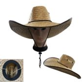 Super Large Brim Straw Sun Hat [Vented]