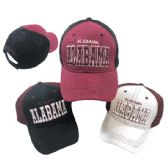 Air Mesh Back Solid Front Ball Cap Alabama