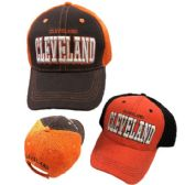 Air Mesh Back Solid Front Ball Cap Cleveland