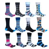 Alberto Cardinali Mens Pattern Dress Socks