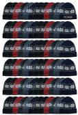 Yacht & Smith Unisex Snowflake Fleece Lined Winter Beanie 6 Colors