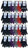 Yacht & Smith Mens Womens, Warm And Stretchy Winter Gloves (24 Pairs Assorted)