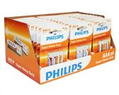 Super Heavy Duty AAA Philips Battery in PDQ Display Box