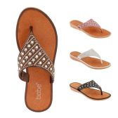Women Rhinestone Fashion Flip Flops
