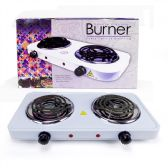Electric Double Burner Stove