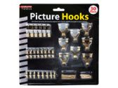 30 Pack Picture Hanging Hooks