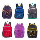 """17"""" Mixed Backpack Assortment in 12 Assorted Styles"""