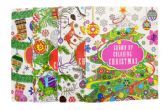 ADULT COLORING BOOK CHRISTMAS