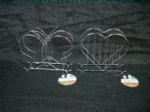 NAPKIN HOLDER BUTTERFLY HEART