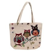 Animal Tapestry Bulk Tote Bags In 3 Assorted Styles