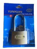 Padlock with extra keys