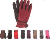 Womens Thermal Lining Gripper Palm Ski Gloves