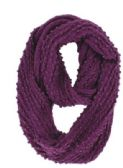 Women's Knitted Winter Infinity Scarf