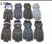 MENS WINTER SKI GLOVES WITH THINSULATE