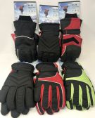 TRUFIT MENS INSULATED WATERPROOF SKI GLOVES ASST COLORS