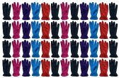 Yacht & Smith Value Pack of Unisex Warm Winter Fleece Gloves, Many Colors, Mens Womens, One Size (48 Pack Woman)