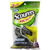 6 Piece Stainless Steel Scourer