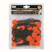 24 PIECE BALL BUNGEE ASSORTMENT