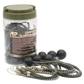 20 PIECE CAMO BALL AND MINI BUNGEE S