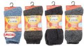 Men's Extra Thick Thermal Winter Crew Sock Size 10-13