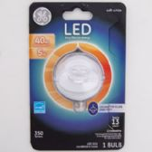 Light Bulb Led Deco Daylight Clear Finish Bent Tip Carded