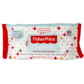 Baby Wipes 80 Coount Unscented Fisher Price With Aloe Vera And Chamomile