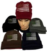 Marijuana Flag Winter Beanie Hat