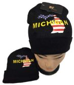 Michigan Winter Beanie Hat