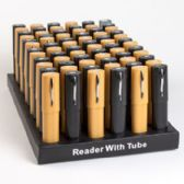 Readers In Plastic Tube Counter Display