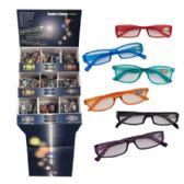 Reader Glasses 9 Assorted Powers Metal Plastic Frames