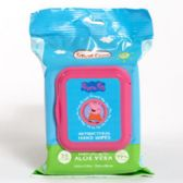 Wipes Antibacterial Enriched With Aloe Vera