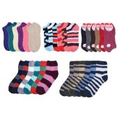 Socks Women's Warm Fuzzy Slipper Soft Plush Cozy Casual