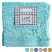 Washcloths 2pk 12x12 6 Asst Colors