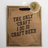 Gift Bag Cub Embellished Happy Beerday