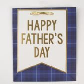 Gift Bag Cub Embellished Navy Fathers Day