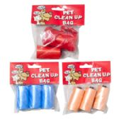 Doggy Clean Up Bags 2 Strips