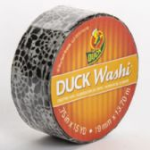 Tape Crafting Duck Washi Black Medallion