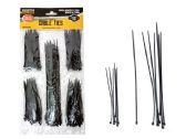 Cable Ties 250pc Black Color