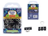 Binder Clips 20pc. 19mm Black