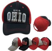 Ohio Air Mesh Back Solid Front Ball Cap New York